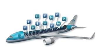 """L'avion """"social"""""""